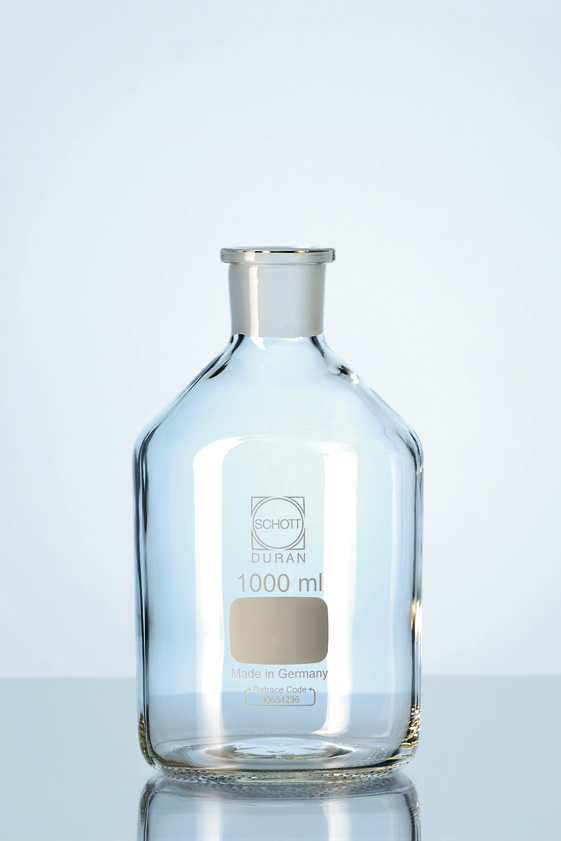 Stopflessen, Kalk-soda-glas, Nauwhals