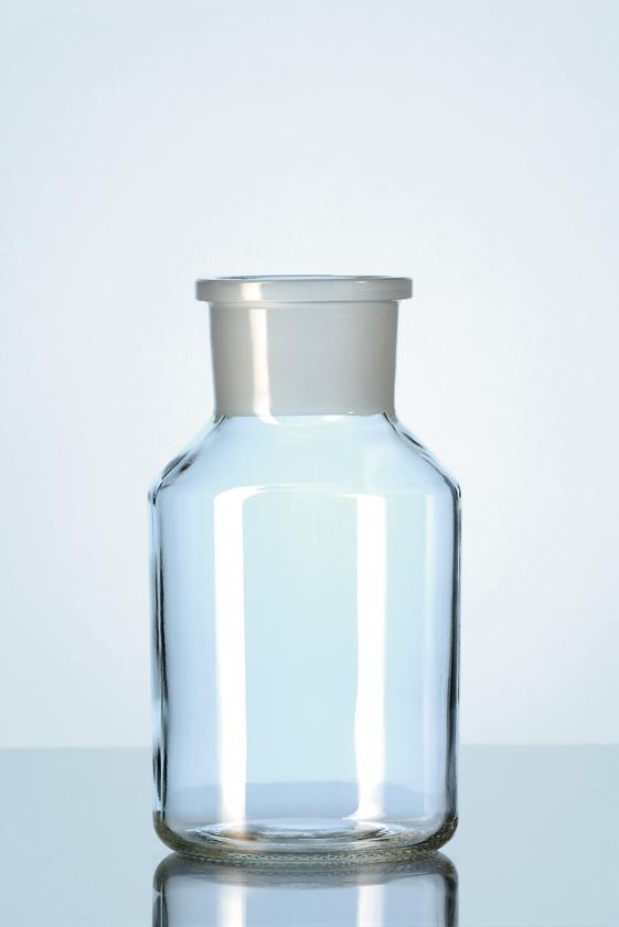 laboratory glass specialists b v stopflessen kalk soda glas wijdhals. Black Bedroom Furniture Sets. Home Design Ideas