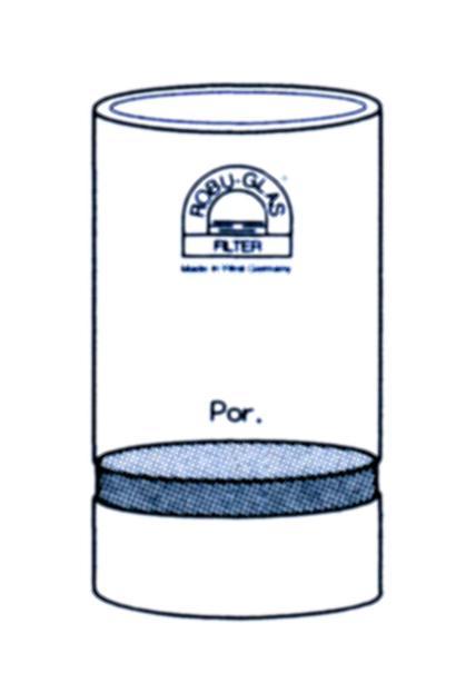 Filterkroes, systeem Tecator