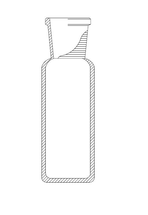 Zuurstoffles, BOD fles, 100ml